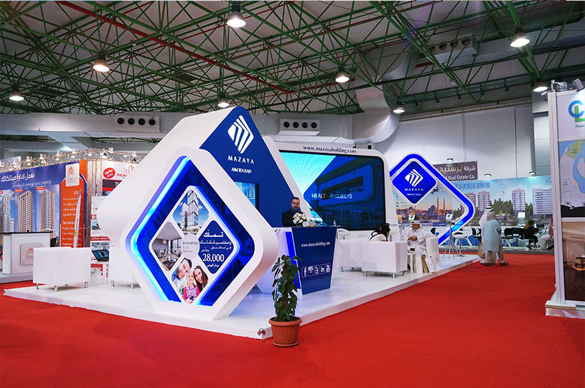 Exhibition Stand Production : Interior design kuwait exhibition stand