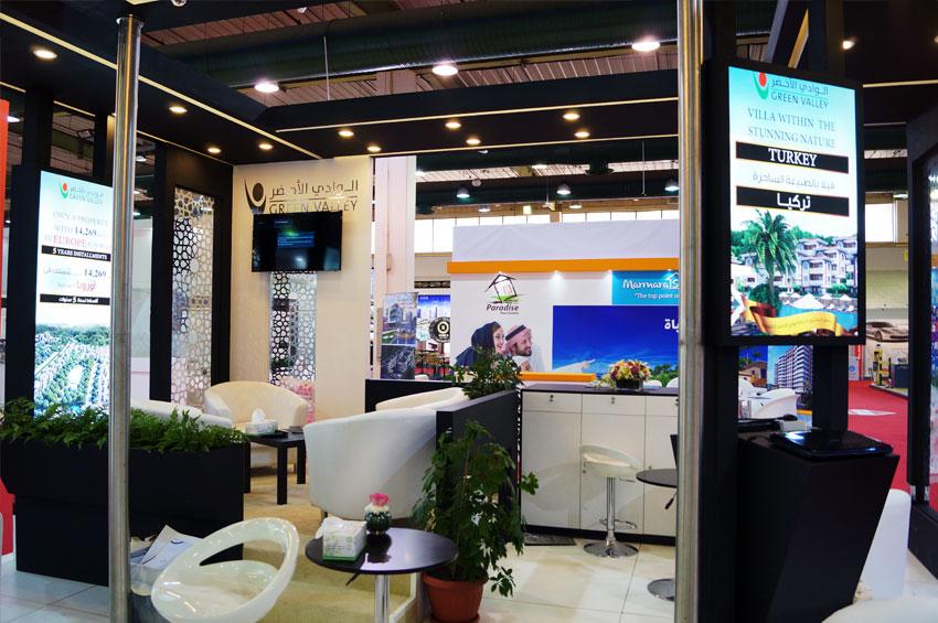 Exhibition Booth Kuwait : Conceptcoms kuwait portfolio interior design exhibition