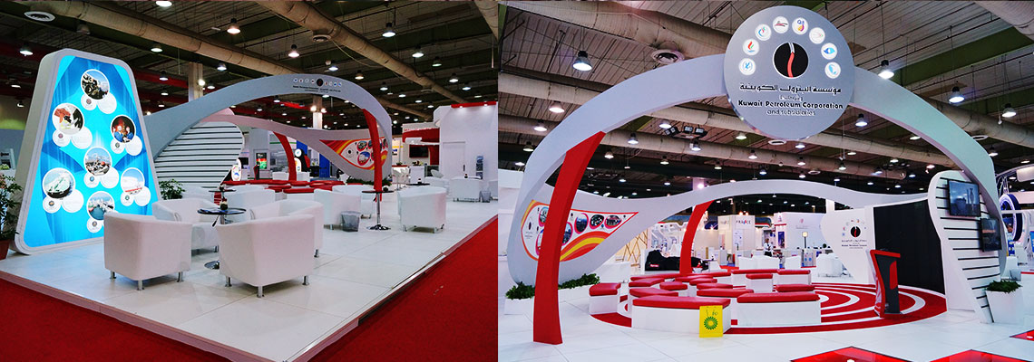 Exhibition Stand Kuwait : Exhibition stand design production and fit out company in